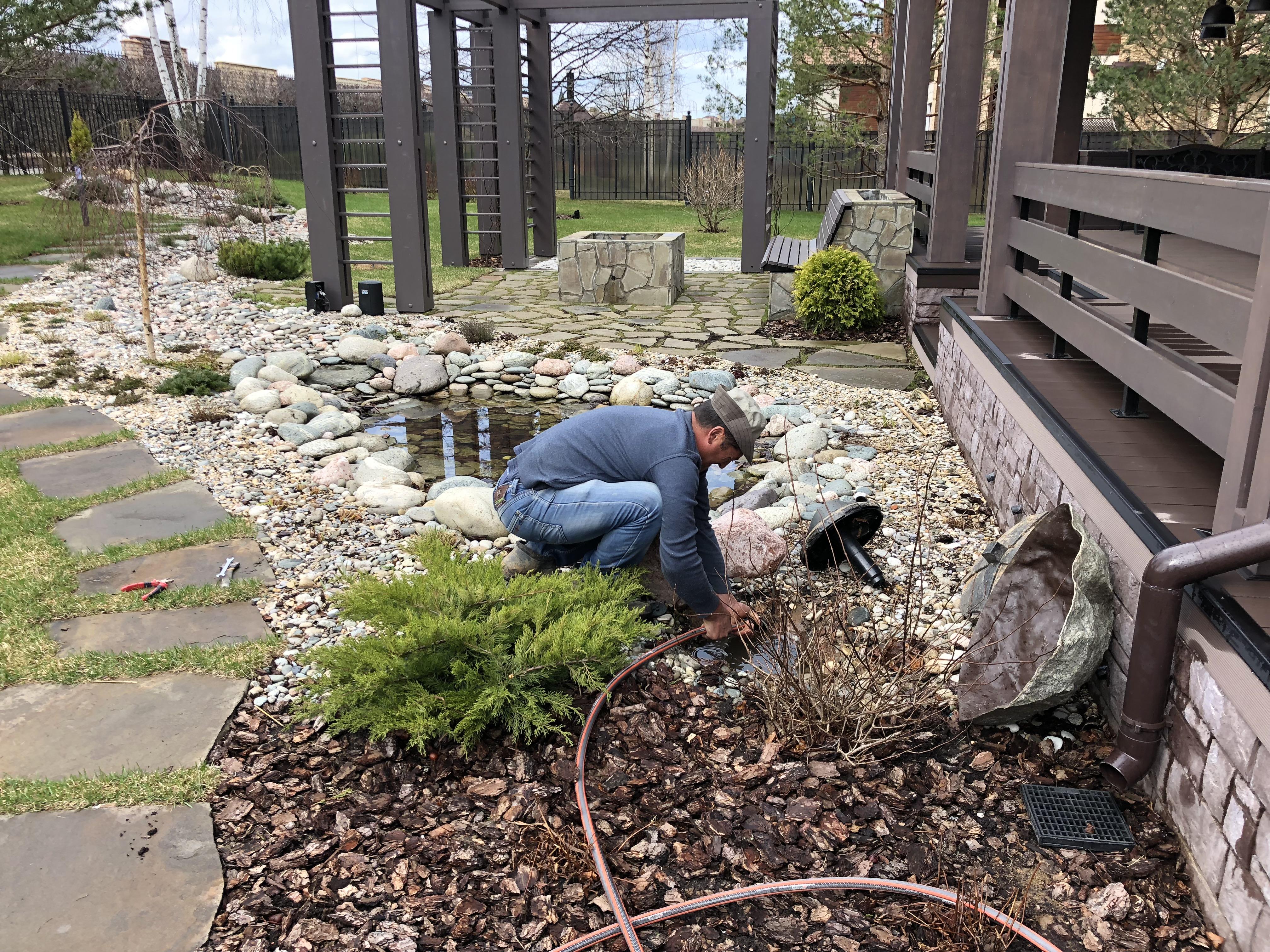 Комплексный уход за садом: водоемы